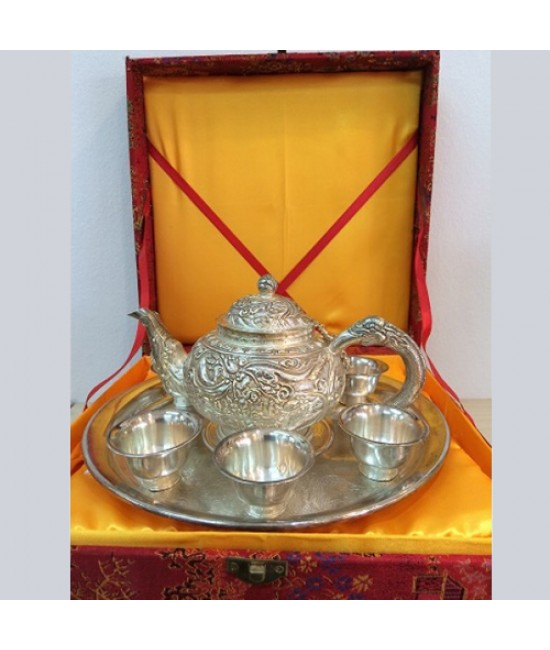 Pure Silver Tea Set