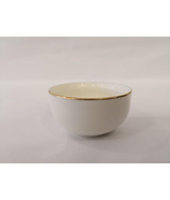 Porcelain Cup with gold trim