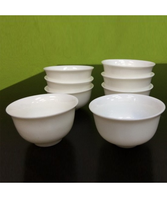 Porcelain Teacup (Plain)