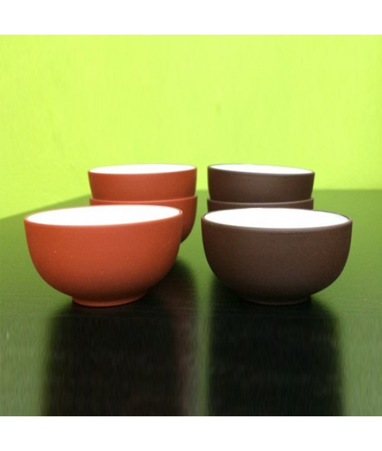 Clay Teacup (Brown)