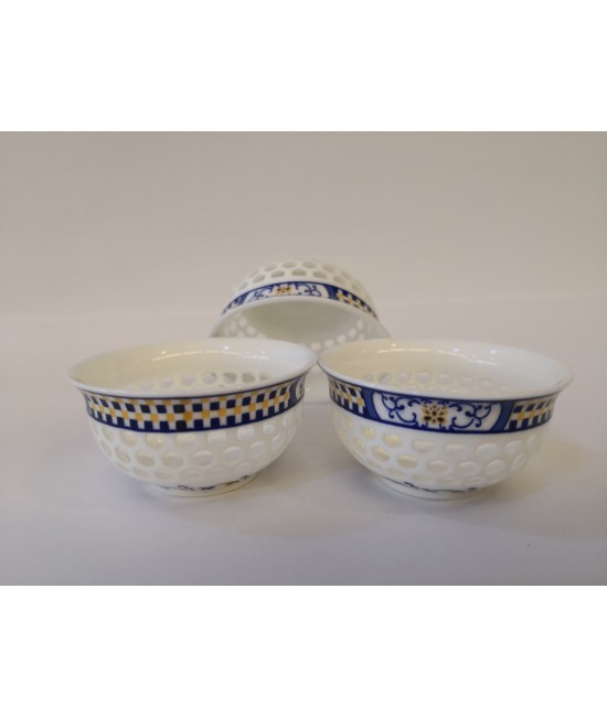 Porcelain - Traditional Chaozhou Bubble Porcelain Teacup