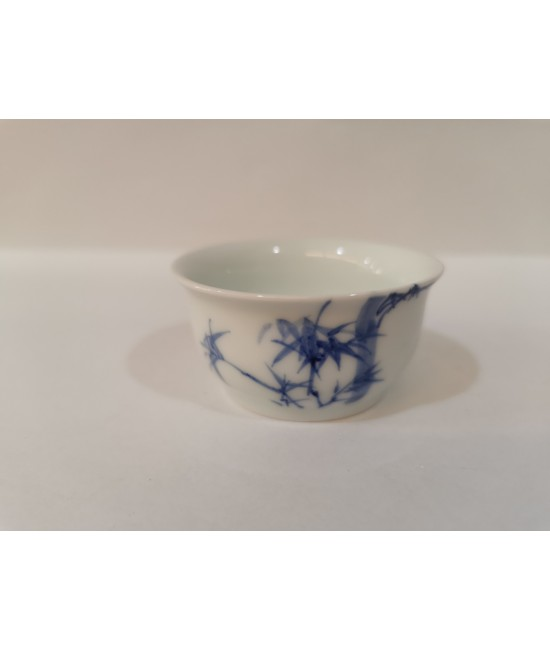 Hand drawn Bamboo Teacup