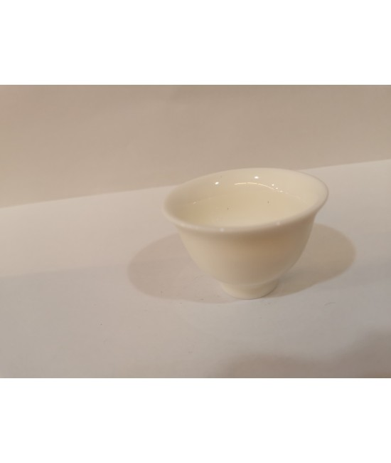 White Jade Porcelain Teacup - No. 4